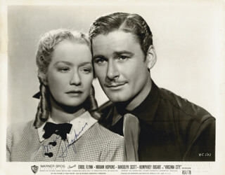 MIRIAM HOPKINS - AUTOGRAPHED SIGNED PHOTOGRAPH