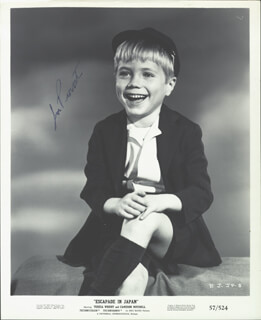 JON PROVOST - AUTOGRAPHED SIGNED PHOTOGRAPH