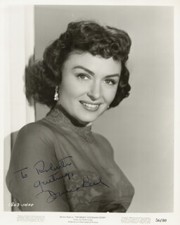 DONNA REED - AUTOGRAPHED INSCRIBED PHOTOGRAPH
