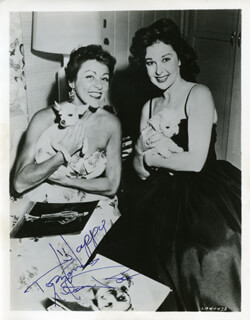 LILLIAN ROTH - AUTOGRAPHED SIGNED PHOTOGRAPH