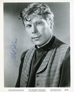 ALBERT SALMI - AUTOGRAPHED SIGNED PHOTOGRAPH