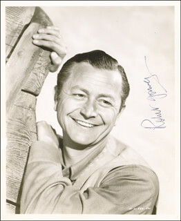 ROBERT YOUNG - AUTOGRAPHED SIGNED PHOTOGRAPH CIRCA 1959