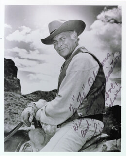 LEIF ERICKSON - AUTOGRAPHED INSCRIBED PHOTOGRAPH