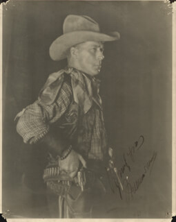 Autographs: WILLIAM S. HART - PHOTOGRAPH SIGNED