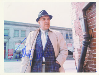 TELLY SAVALAS - AUTOGRAPHED SIGNED PHOTOGRAPH