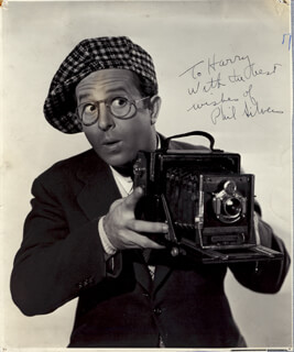 PHIL SILVERS - AUTOGRAPHED INSCRIBED PHOTOGRAPH