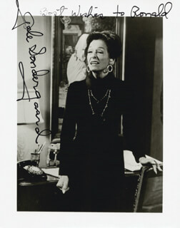 GALE SONDERGAARD - AUTOGRAPHED INSCRIBED PHOTOGRAPH