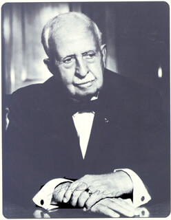 J. C. (JAMES CASH) PENNEY - PAMPHLET SIGNED CIRCA 1965