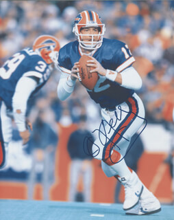 JIM KELLY - AUTOGRAPHED SIGNED PHOTOGRAPH