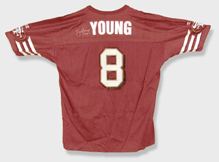 Autographs: STEVE YOUNG - JERSEY SIGNED