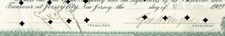 Autographs: GEORGE H. HARTFORD - STOCK CERTIFICATE SIGNED 08/17/1905