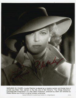 LOUISE FLETCHER - AUTOGRAPHED SIGNED PHOTOGRAPH