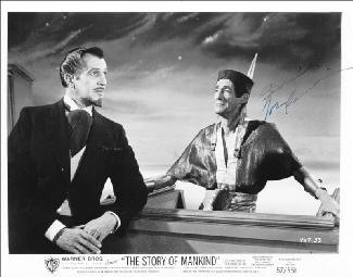 JOHN CARRADINE - AUTOGRAPHED SIGNED PHOTOGRAPH