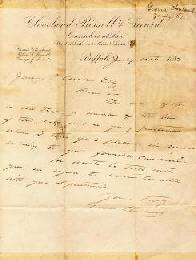PRESIDENT GROVER CLEVELAND - AUTOGRAPH LETTER SIGNED 07/10/1882