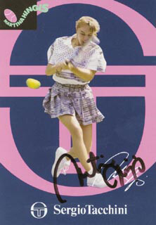 MARTINA HINGIS - AUTOGRAPHED SIGNED PHOTOGRAPH
