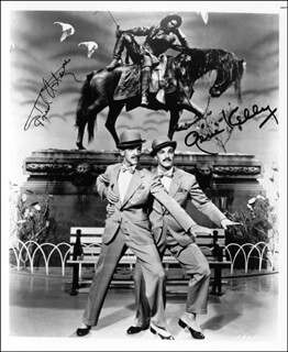ZIEGFELD FOLLIES MOVIE CAST - AUTOGRAPHED SIGNED PHOTOGRAPH CO-SIGNED BY: GENE KELLY, FRED ASTAIRE