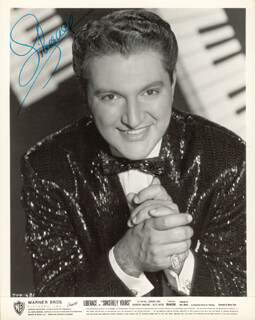 LIBERACE - AUTOGRAPHED SIGNED PHOTOGRAPH