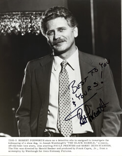 ROBERT FOXWORTH - AUTOGRAPHED SIGNED PHOTOGRAPH  - HFSID 25258