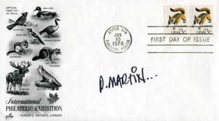 DON MARTIN - FIRST DAY COVER SIGNED