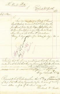 Autographs: BRIGADIER GENERAL GEORGE P. BUELL - MANUSCRIPT DOCUMENT SIGNED