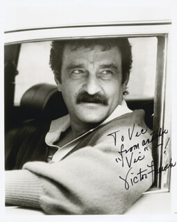 VICTOR FRENCH - AUTOGRAPHED INSCRIBED PHOTOGRAPH