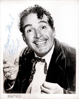 J. CARROL NAISH - AUTOGRAPHED SIGNED PHOTOGRAPH