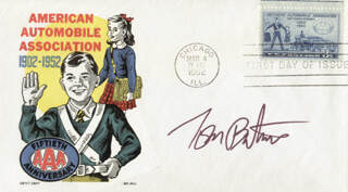 TOM BATIUK - FIRST DAY COVER SIGNED
