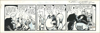 Autographs: HAM FISHER - ORIGINAL ART SIGNED 12/6