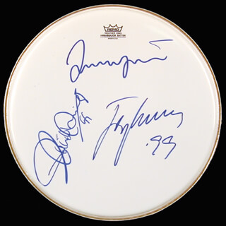 THE THREE TENORS - DRUMHEAD SIGNED 1999 CO-SIGNED BY: PLACIDO DOMINGO, JOSE CARRERAS, LUCIANO PAVAROTTI