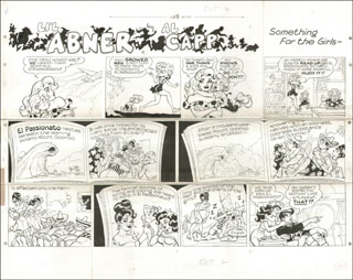 AL CAPP - ORIGINAL ART SIGNED