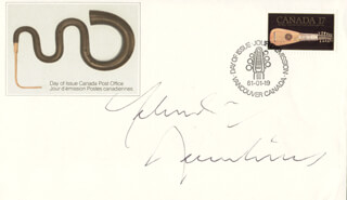 YEHUDI MENUHIN - FIRST DAY COVER SIGNED