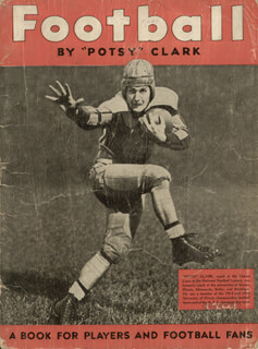 Autographs: GEORGE POTSY CLARK - BOOK UNSIGNED CIRCA 1935