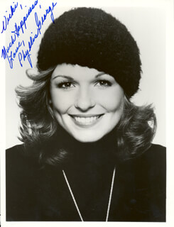 PHYLLIS GEORGE - AUTOGRAPHED INSCRIBED PHOTOGRAPH