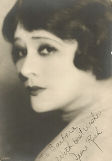 IRENE RICH - AUTOGRAPHED INSCRIBED PHOTOGRAPH