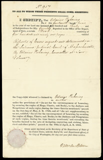 PRESIDENT MARTIN VAN BUREN - DOCUMENT SIGNED 06/14/1830