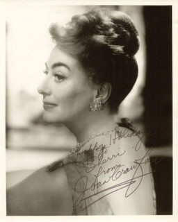 JOAN CRAWFORD - AUTOGRAPHED INSCRIBED PHOTOGRAPH