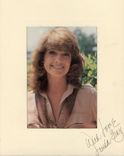 LINDA GRAY - PHOTOGRAPH MOUNT SIGNED