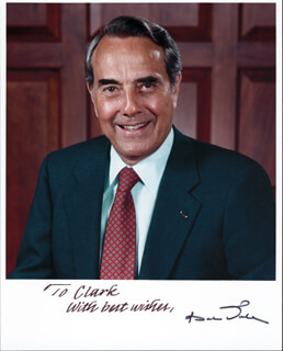 ROBERT J. BOB DOLE - AUTOGRAPHED INSCRIBED PHOTOGRAPH