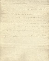 PRESIDENT JAMES BUCHANAN - AUTOGRAPH LETTER SIGNED 06/26/1831