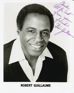 ROBERT GUILLAUME - AUTOGRAPHED INSCRIBED PHOTOGRAPH