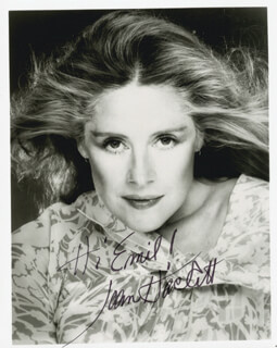 JOAN HACKETT - AUTOGRAPHED INSCRIBED PHOTOGRAPH