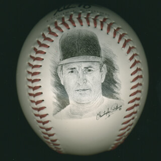 NOLAN RYAN - BASEBALL UNSIGNED