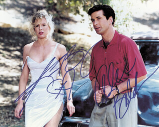 THE MARRYING MAN MOVIE CAST - AUTOGRAPHED SIGNED PHOTOGRAPH CO-SIGNED BY: KIM BASINGER, ALEC BALDWIN