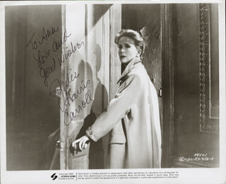 JULIE HARRIS - AUTOGRAPHED INSCRIBED PHOTOGRAPH CIRCA 1969