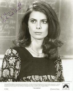 KATHRYN HARROLD - AUTOGRAPHED INSCRIBED PHOTOGRAPH