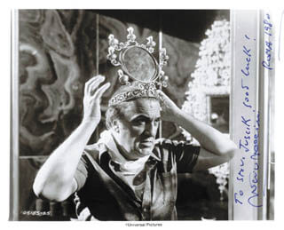FEDERICO FELLINI - AUTOGRAPHED INSCRIBED PHOTOGRAPH 1980