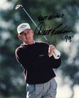 DAVID GRAHAM - AUTOGRAPHED SIGNED PHOTOGRAPH 1999