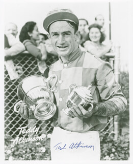Autographs: THEODORE F. TED ATKINSON - PHOTOGRAPH SIGNED