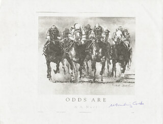 Autographs: W. BURLING COCKS - PHOTOCOPY SIGNED IN INK