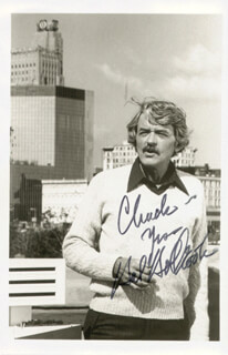 HAL HOLBROOK - AUTOGRAPHED INSCRIBED PHOTOGRAPH